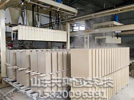 石膏砌块机的技术装备