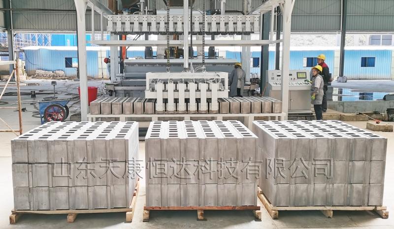 河南带有自动码垛的高精度石膏砌块设备